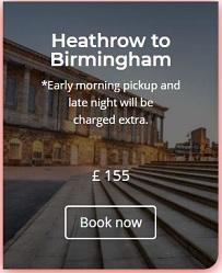 Heathrow to Birmingham