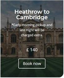 Heathrow to Cambridge