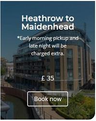 Heathrow to Maidenhead