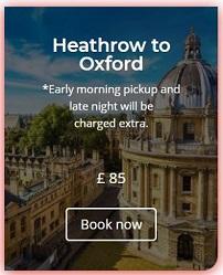 Heathrow to Oxford